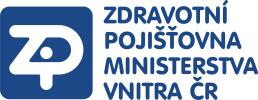 Logo Zdravotní pojišťovny Ministerstva vnitra ČR