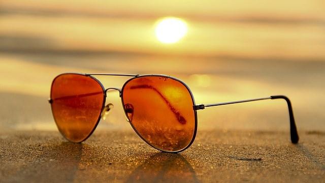 Sluneční brýle kategorie 1 - žluté skla, snížená viditelnost