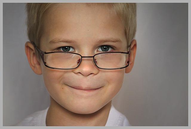 Dioptrické dětské brýle